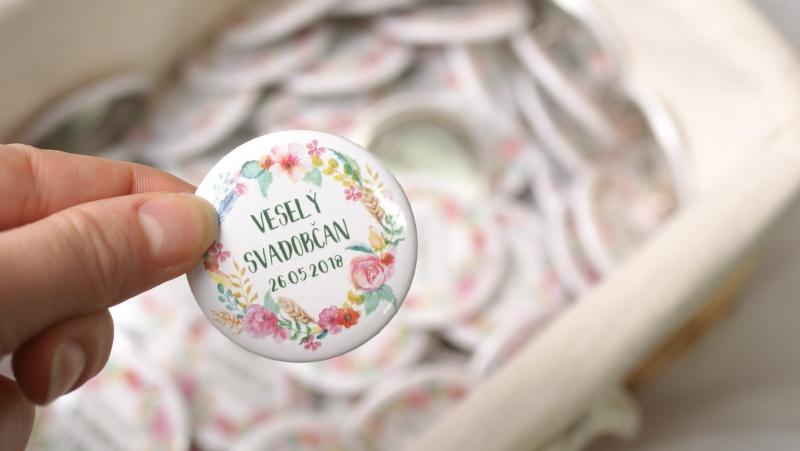 Svadobné odznaky