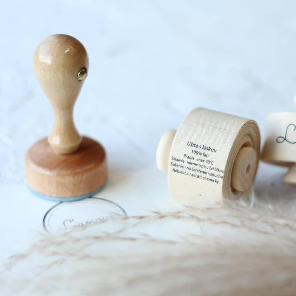 pečiatky pre handmade predajcov